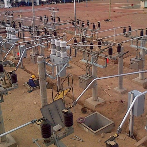 Construcción nuevo Puesto de Interconexión. El Portón