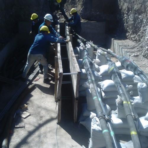 Linea Subterránea de Alta Tensión NIHUIL IV – San Rafael